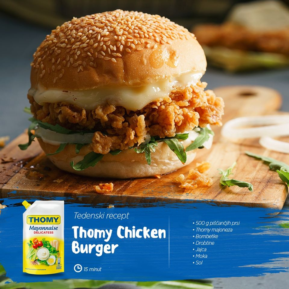 THOMY Chicken burger5